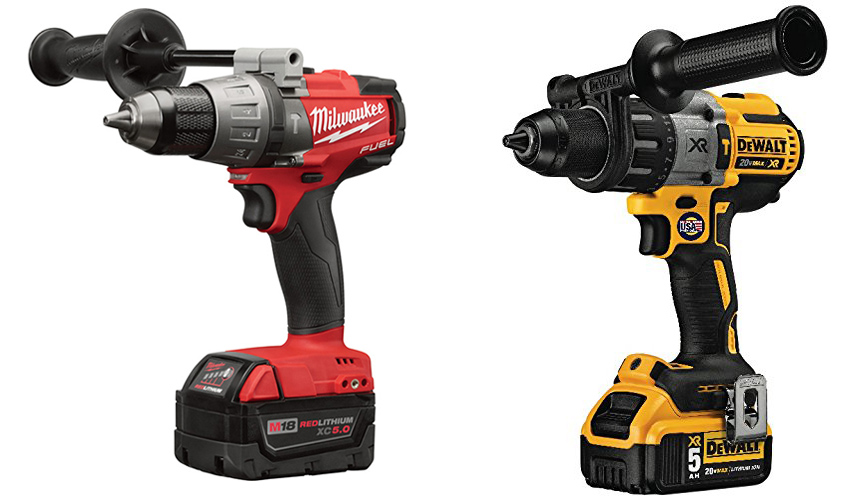 dewalt dcd996 vs milwaukee 2704